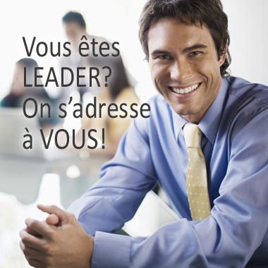 Vous êtes LEADER!